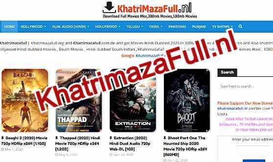 Khatrimaza Pro - 300MB Movies Download | Khatrimazafull Net