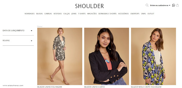 Shoulder Moda Feminina