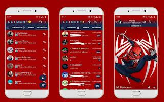 Spider Man Theme For YOWhatsApp & Fouad WhatsApp By Leidiane