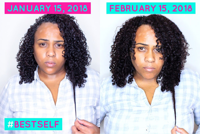 Growing Long Hair and Getting Healthy: 30 Days Later with Camille Rose Naturals Super Foods Vitamins