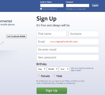 Facebook Create New Account now - KOBE MONITOR