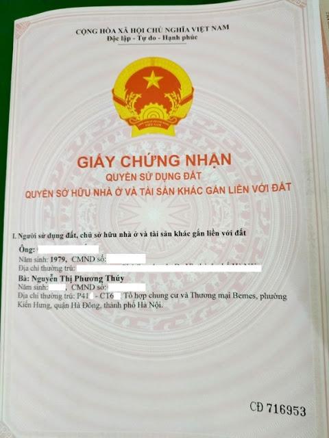 Bộ TN-MT 'tuýt còi' việc Hà Nội thu hồi sổ đỏ chung cư Mường Thanh
