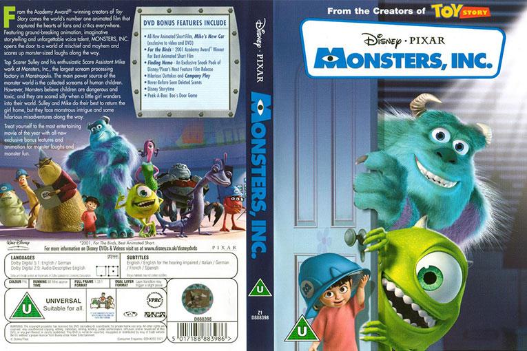 Monsters, Inc. (2001) 720p BrRip [Dual Audio] [Hindi+Englsih]