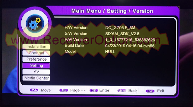 PROTOCOL 1506F 8MB TYPE HD RECEIVER TEN SPORTS POWERVU KEY NEW SOFTWARE