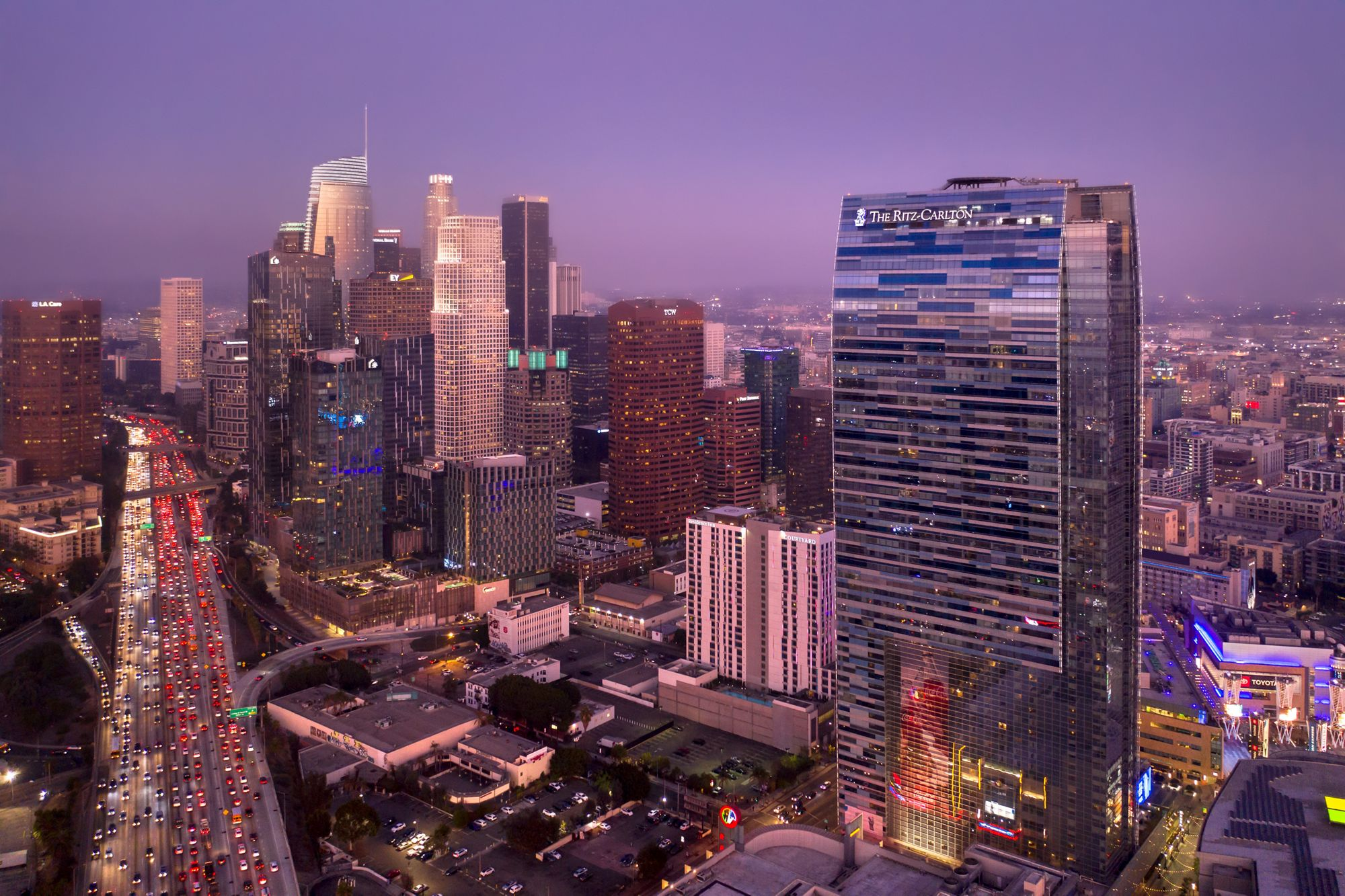 Los Angeles Hotels For New Year's Eve 2021