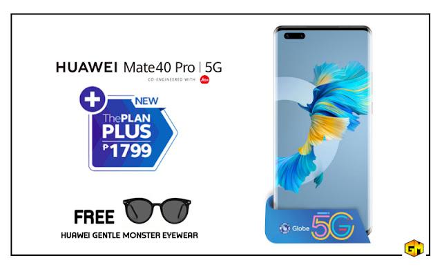 Huawei Mate40 Pro 5G Globe Plan Gizmo Manila