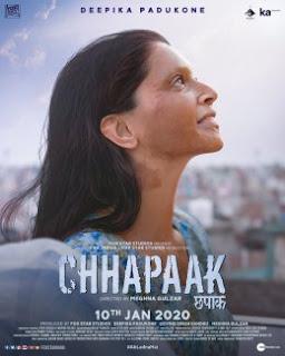 Chhapaak Movie Download by Filmyzilla Watch Online