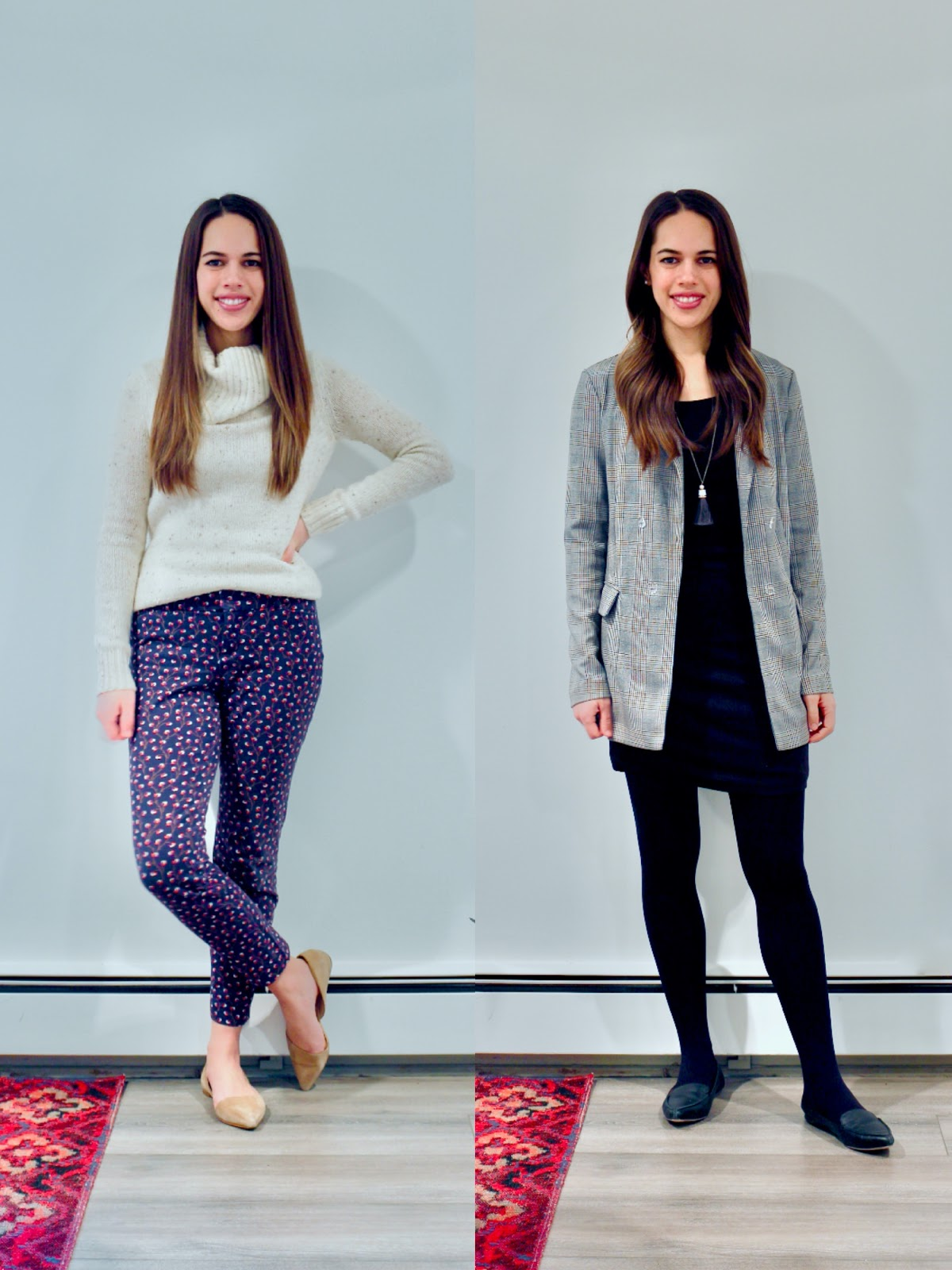 Jules in Flats - February Outfits Week 1 (Business Casual Winter Workwear on a Budget)