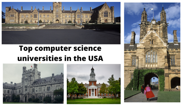 top computer science universities in the USA