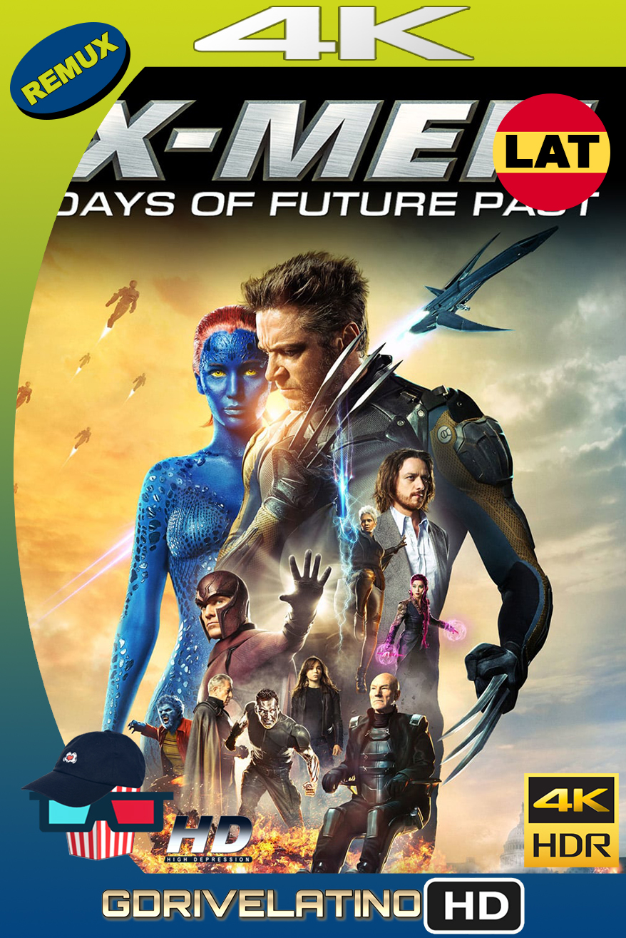 X-Men : Días del Futuro Pasado (2014) THEATRICAL CUT BDRemux 4K HDR Latino-Ingles MKV