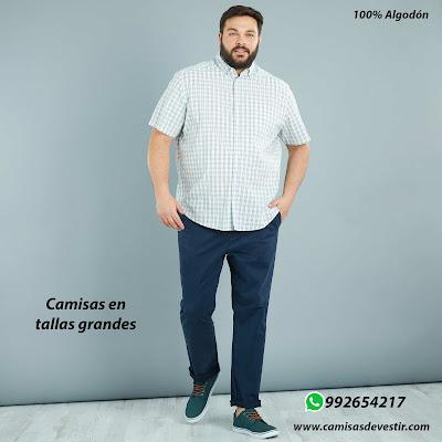 Camisas tallas grandes Ayacucho