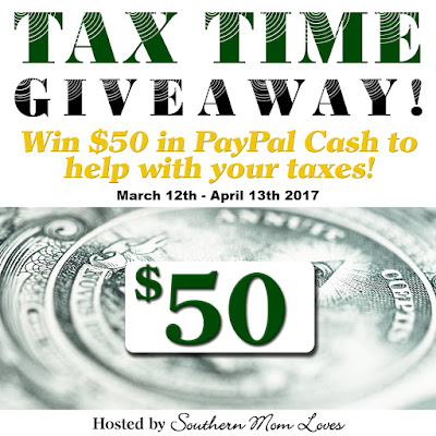 Enter the Tax Time 2017 Giveaway. Ends 4/13