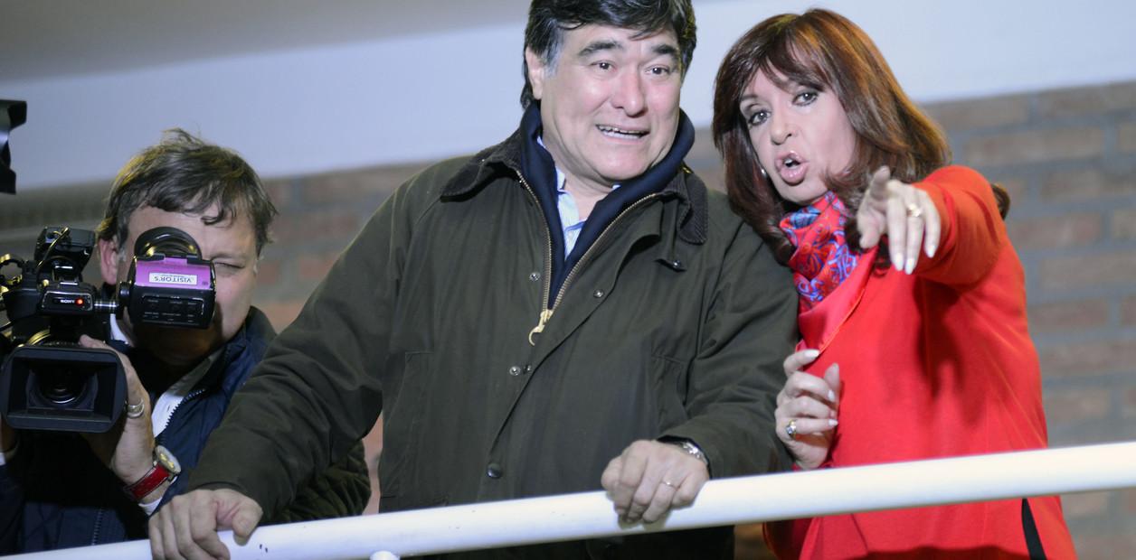 Zannini, abogado y dirigente social posa junto a la vicepresidenta Cristina Fernández / ARCHIVO CLARÍN