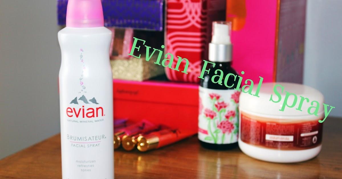 Glazed Over Beauty Evian Facial Spray Review