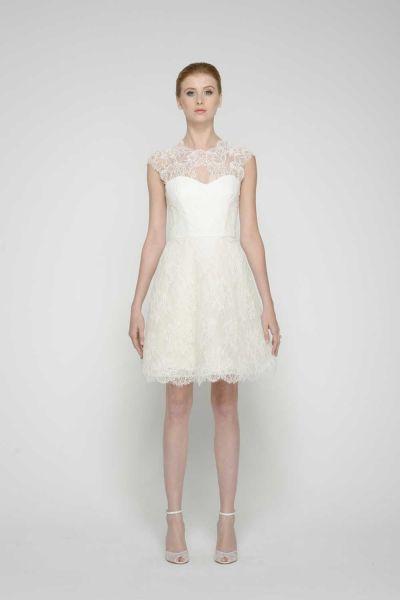 vestidos de novia civil elegantes