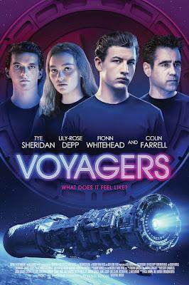 Voyagers (2021) English 5.1ch 720p | 480p HDRip ESub x264 850Mb | 300Mb