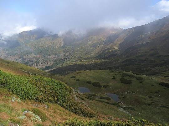 Dolina Pyszniańska i Dudowe Stawki.