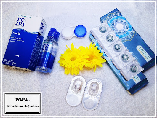 Kanta Lekap Bausch + Lomb Siri Lacelle Diamond & Jewel | Review