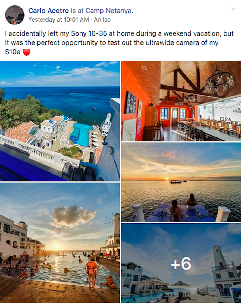 Carlo Acetre's post in GIZGUIDEPH's Facebook group