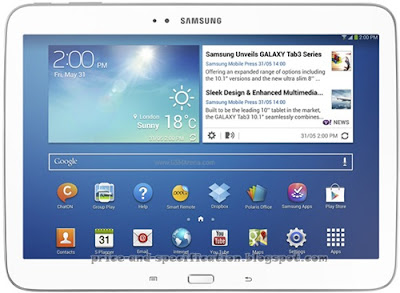 Samsung Galaxy Tab 3 10.1 P5220 Price | Price and Specification