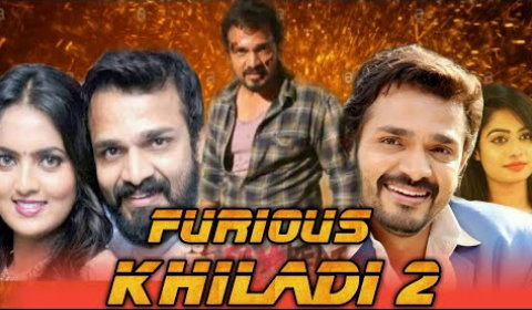 Furious Khiladi 2 2019 Hindi Dubbed HDTV 300MB 480p