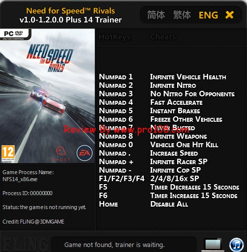 Nfs rivals trainer download.