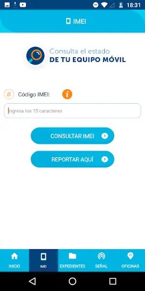 APP OSIPTEL VERIFICAR IMEI CELULAR ROBADO, INTERNET, COBERTURA