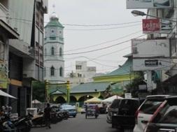 Mesjid Lama, Mesjid Bengkok Medan.