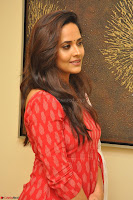 Anusuya in Red at Kalamandir Foundation 7th anniversary Celebrations ~  Actress Galleries 030.JPG