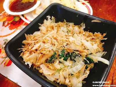 涼拌韭菜NT$30