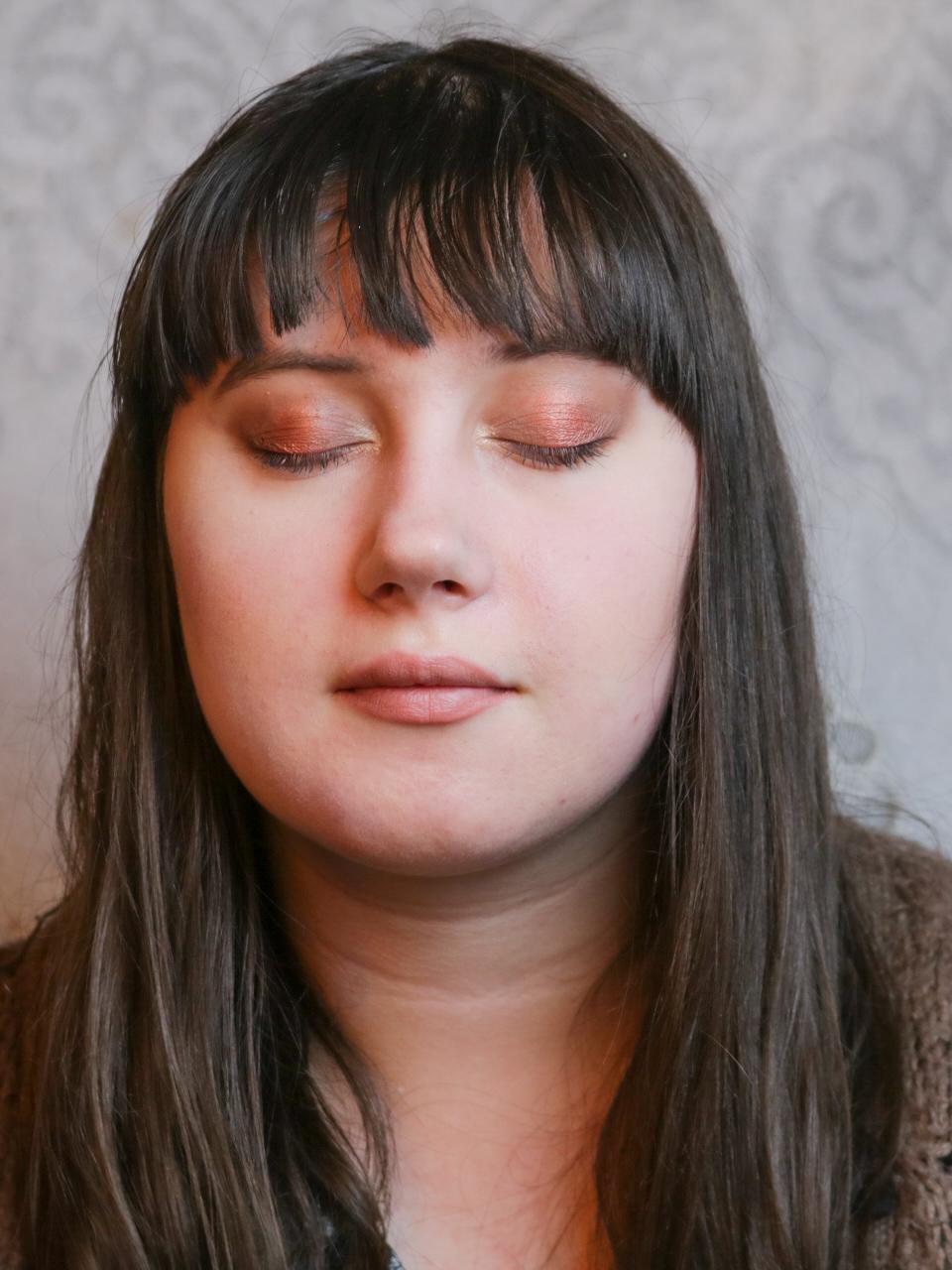 Makijaż brązy