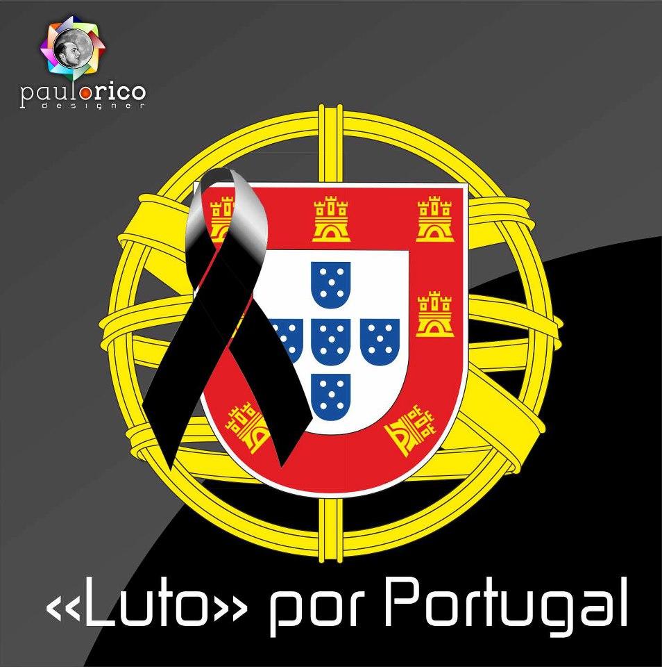 """Résultat de recherche d'images pour """"Portugal em luto"""""""