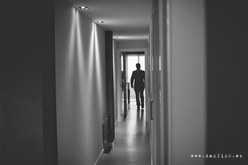 novio por el pasillo