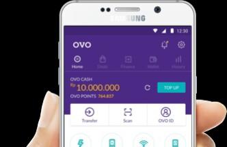 aplikasi OVO - pembayaran digital