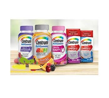 أقراص سينتروم(CENTRUM) مكمل غذائي هام جداً لمرضي القلب والسكر  ولصحة الطفل والمرأة والمسنين
