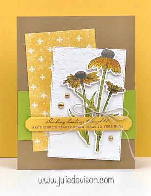 Stampin' Up! Nature's Harvest Card ~ Harvest Meadow Suite ~ July-December 2021 Mini Catalog ~ www.juliedavison.com #stampinup