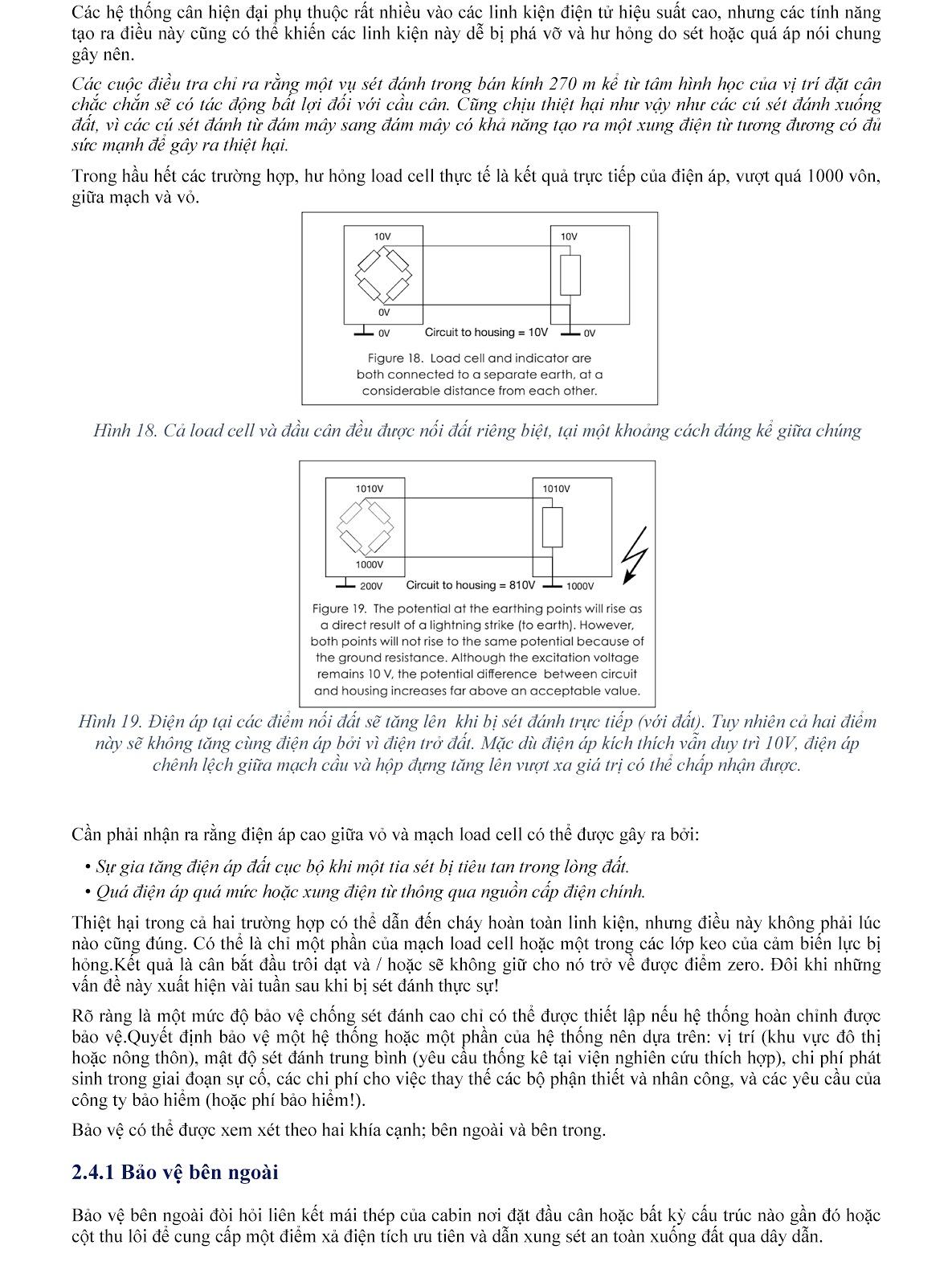 Lưu ý kỹ thuật về Load cell và module cân điện tử (tt) 14