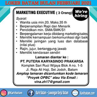 Lowongan Kerja PT. Putera Karyasindo Prakarsa