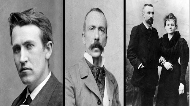 علماء,أشباح,ماري كوري,أرواح,موتى,توماس إديسون