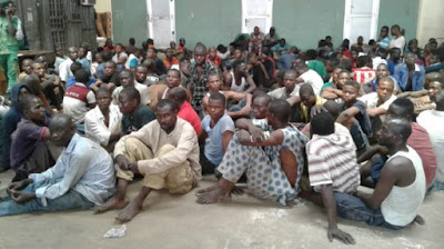 71 Suspected Miscreants Arrested By Lagos State Task Force