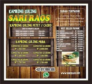 Harga Kambing Guling di Bandung,