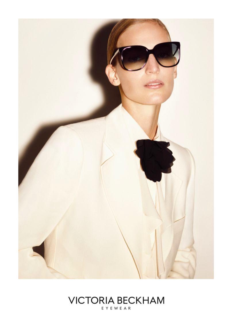 Vanessa Axente Fronts Victoria Beckham Eyewear Spring 2020 Campaign