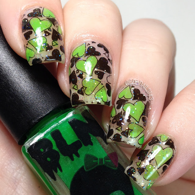 Black Label Nails- Pop Rocks Green Apple