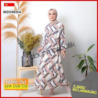 DMB1239 DRESS WANITA 1KG MUAT 4PCS TASHILA MAXY HOMEYDRESS PRINT MOTIF HITS SELEBGRAM FASHION WANITA MUSLIMAH SYARIAH BARU 2021