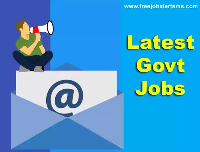 Latest Govt Jobs New Govt Jobs 2020