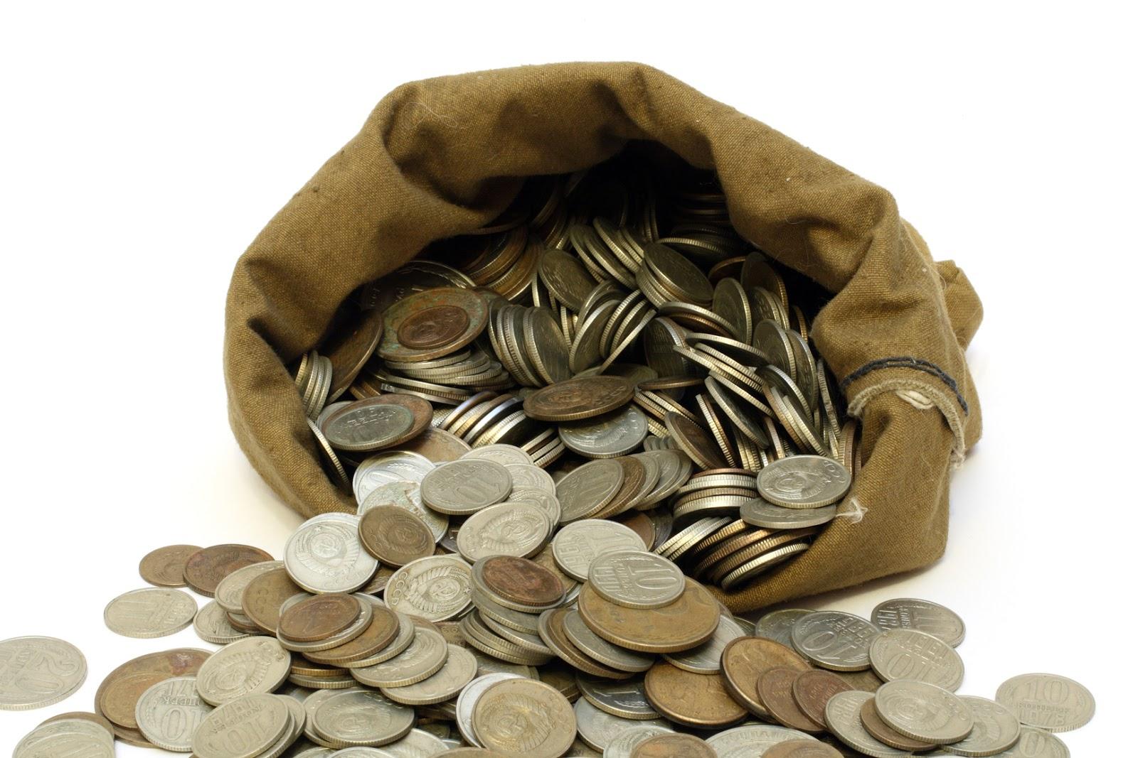 Смешные картинки про монеты