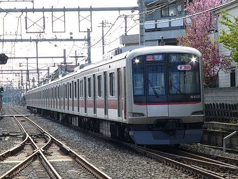 【平日1本限定!】快速 所沢行き 東急5050系
