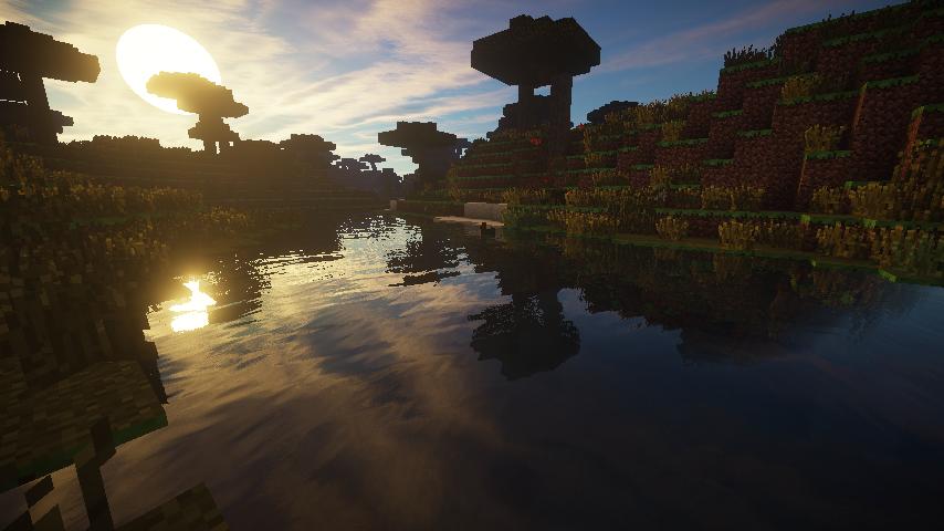 1.7.2真實光影懶人包 - Minecraft 我的世界當個創世神各種介紹
