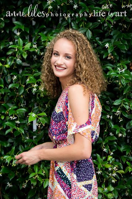 Anne Liles Photography | Southport NC : Senior Photos: Grad: Bailey