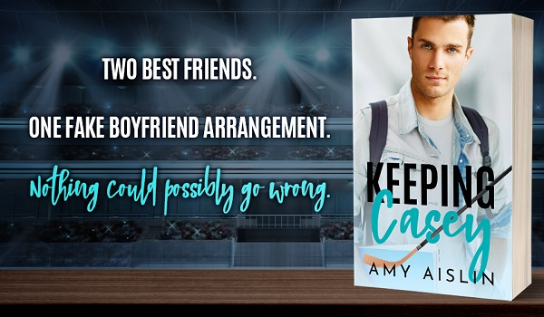 Two best friends. One fake boyfriend arrangement. Nothing could possibly go wrong.